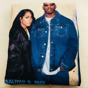 Aaliyah and DMX T-shirtNWT, used for sale